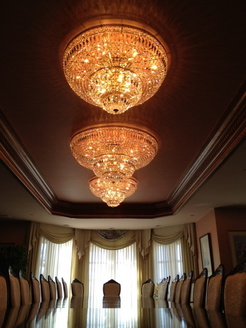 Glass or Crystal Chandelier Cleaning North & West Vancouver, Burnaby