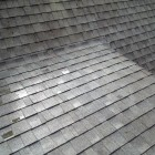 Asphalt roof cleaning - AFTER