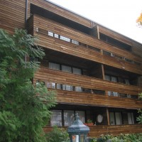 AFTER - wooden siding washed in Burnaby