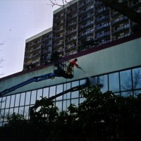 commercial building washing in Surrey