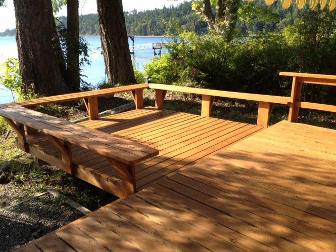 Wooden Deck Refinishing & Restoration | A Glass Act