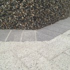 These surfaces were cleaned then sealed - we also re-sanded the pavingstone surface