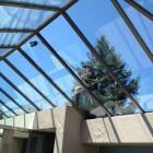 Roof glass washing, awning glass washing and skylight washing services