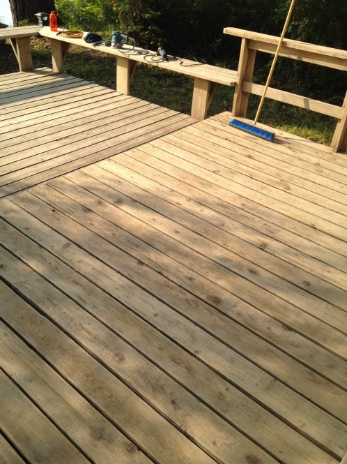 Wooden Deck Refinishing Amp Restoration A Glass Act