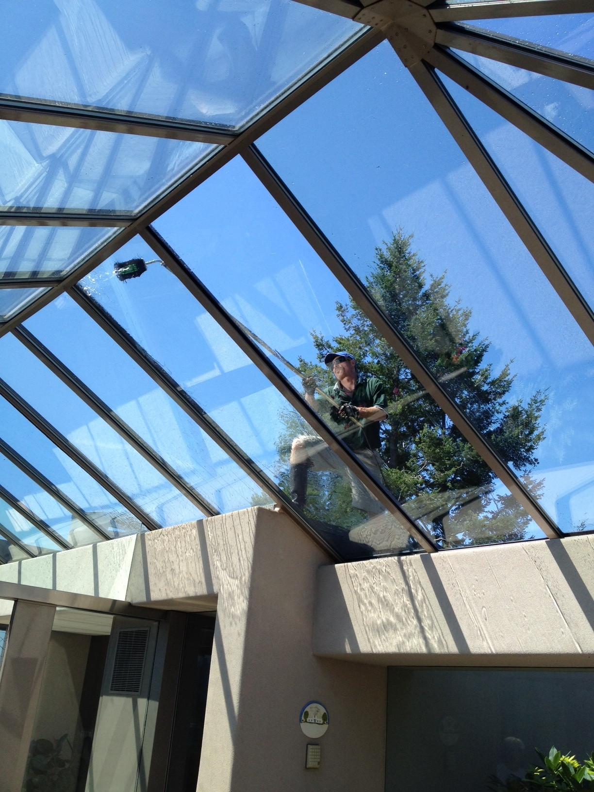 Window Washing West Vancouver A Glass Act Roof Glass