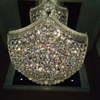 Beautiful sparkling crystal chandelier, hand cleaned and polished