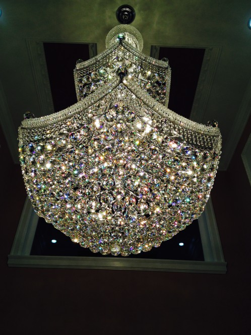 Glass Or Crystal Chandelier Cleaning North Amp West
