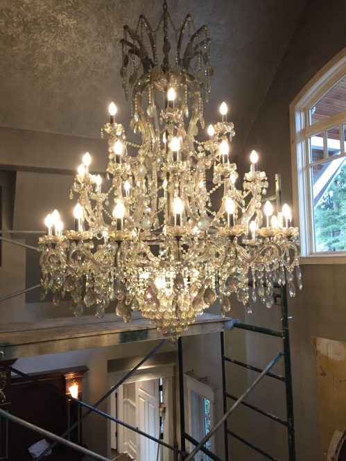 Vancouver Chandelier Cleaning A Glass Act